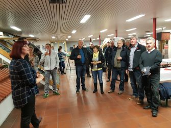 Einladung zum Hoffest auf dem Firmengelände des Dachdecker1kauf Ost eG in Massen
