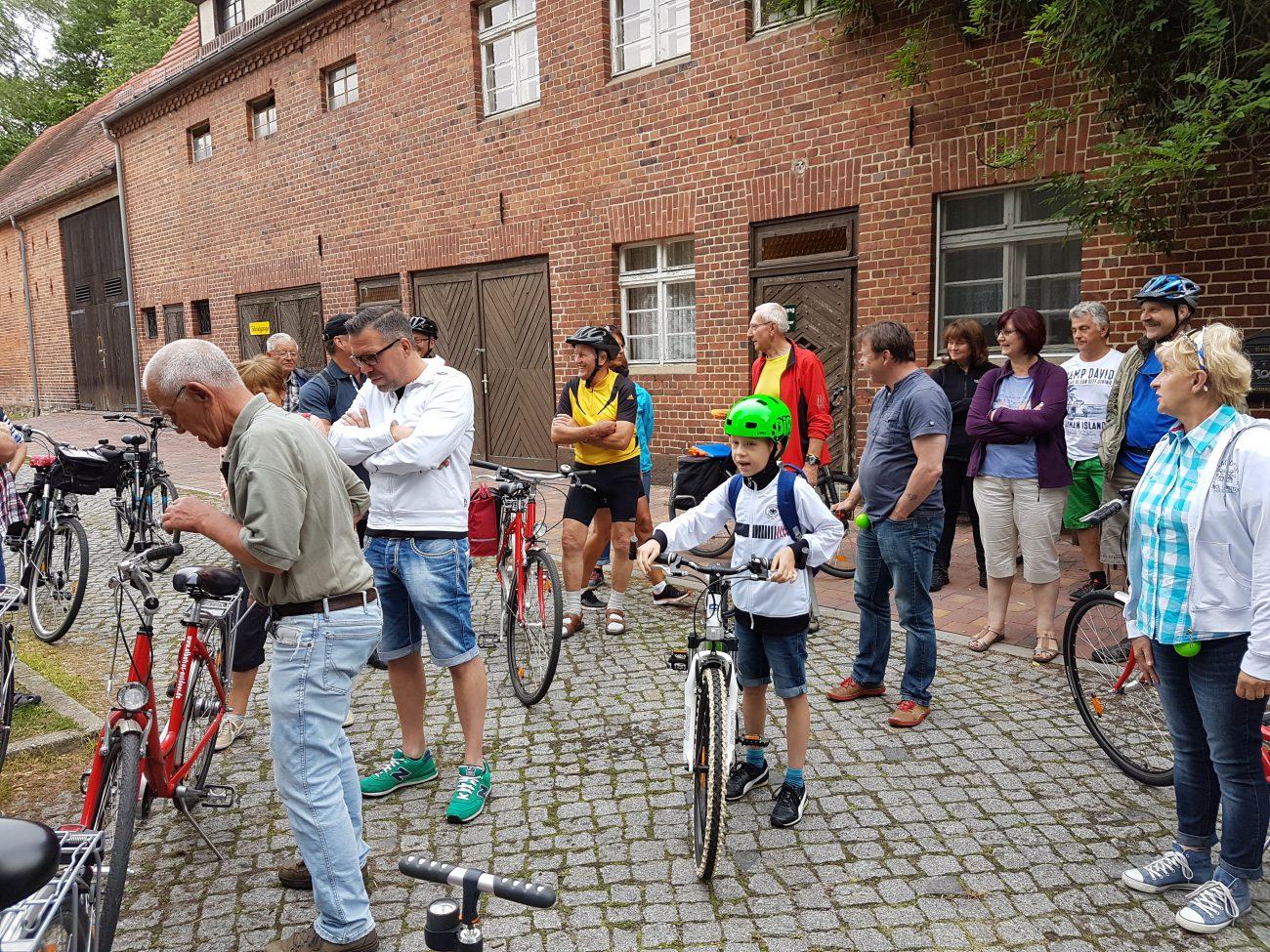 Fahrradtour um den Gräbendorfer See