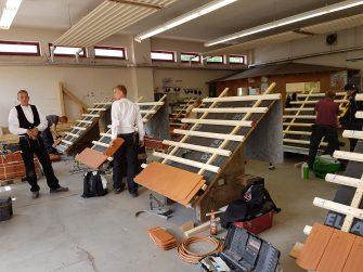 Einladung zur Zwischenprüfung im Dachdeckerhandwerk