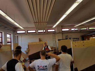 Gesellenprüfung in der Fertigkeit im Dachdeckerhandwerk