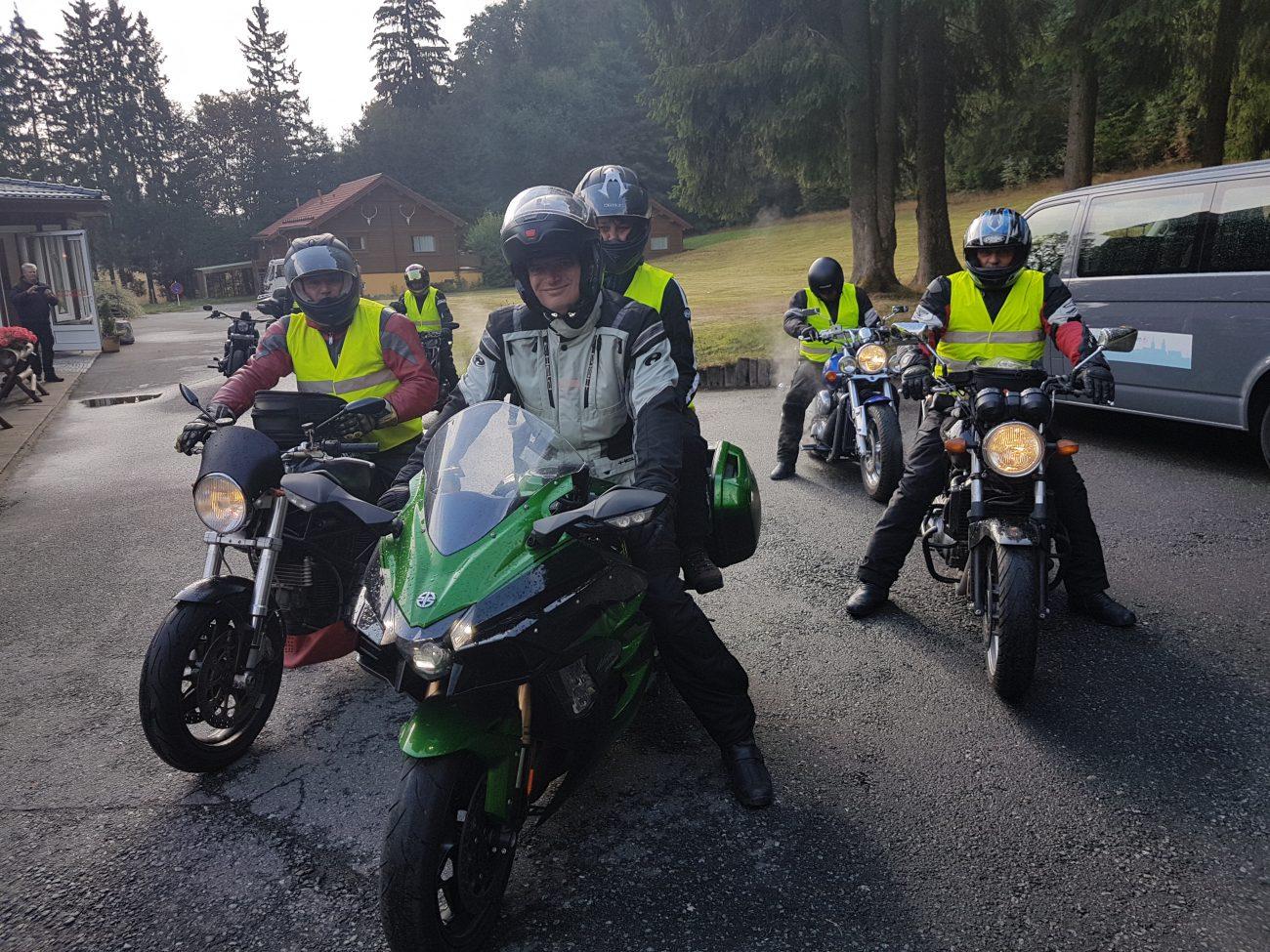 Einladung zur 18. Motorradtour der Dachdecker-Innung Cottbus